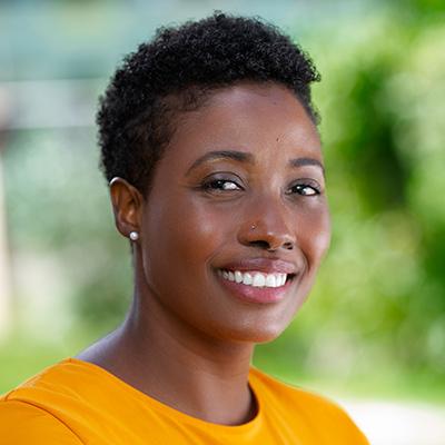 headshot of Binta Brown
