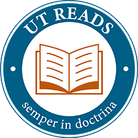 blue logo for UT Reads