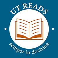 blue logo for UT Reads