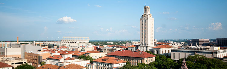 picture of UT Austin campus