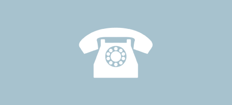 icon for contact section of webpage