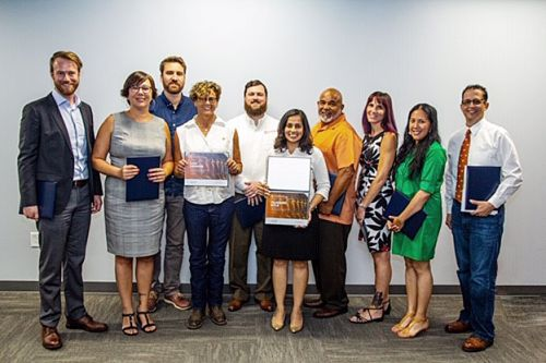 group photo of FAS Leadership Growth Program 2019 Graduates