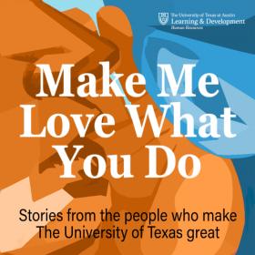 Make Me Love What You Do podcast logo